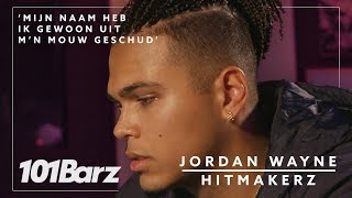 'Mijn naam heb ik gewoon uit m'n mouw geschud' - Jordan Wayne - Hitmakerz
