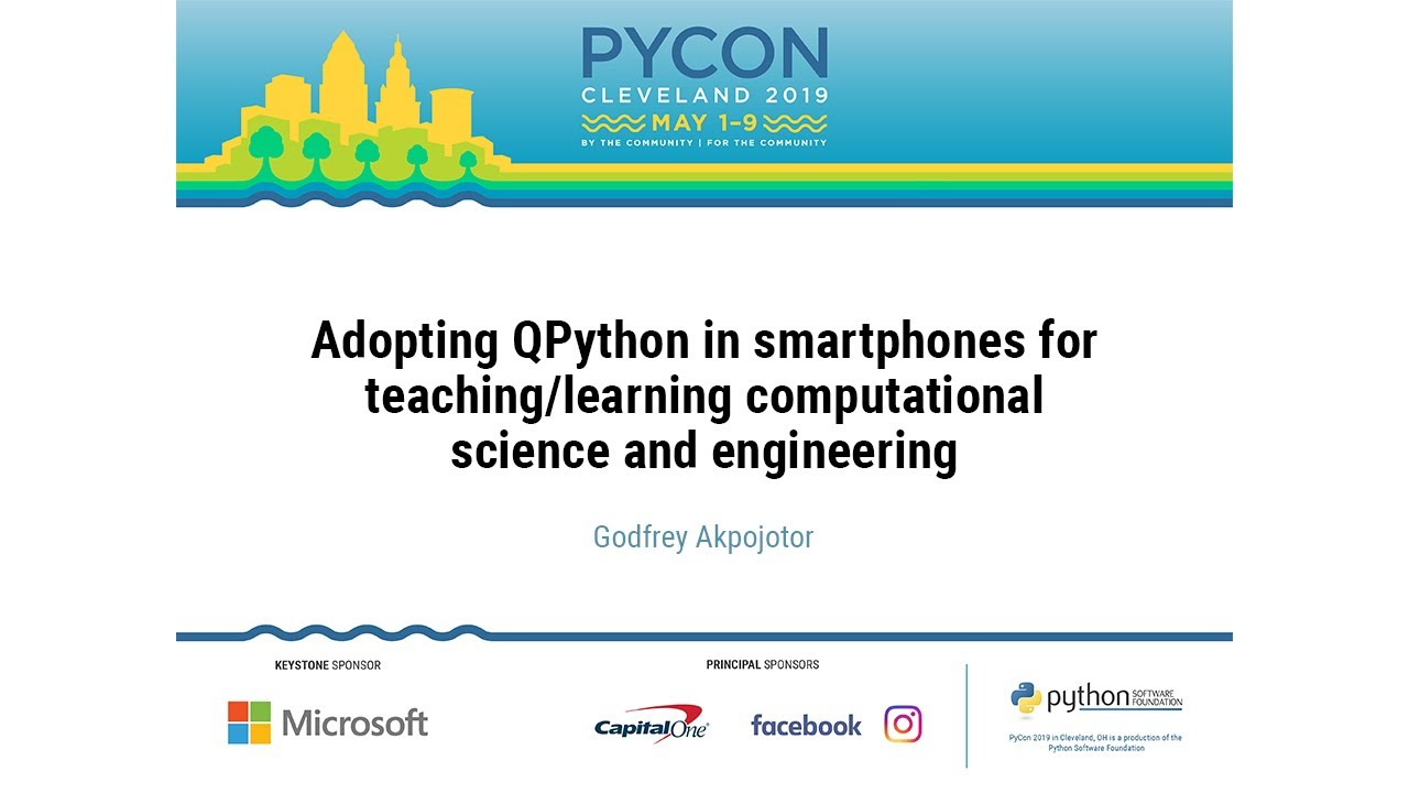 Image from Adopting QPython in smartphones for teaching/learning computational science and engineering
