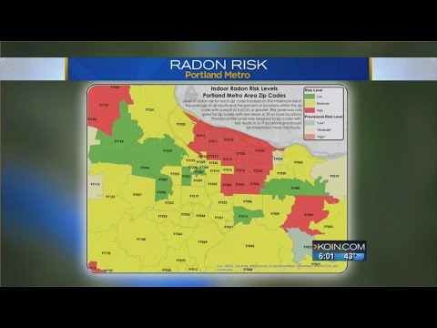 New radon data highlights Oregon danger zones