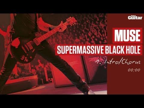 Guitar Lesson: Muse 'Supermassive Black Hole' -- Part One -- Intro/Chorus (TG215)