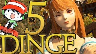5 Dinge womit mich Final Fantasy XIV aufgehalten hat!