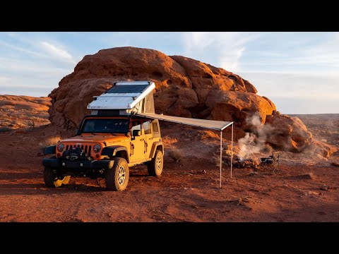 V12E15: Sandstone Canyons and Mobile Living