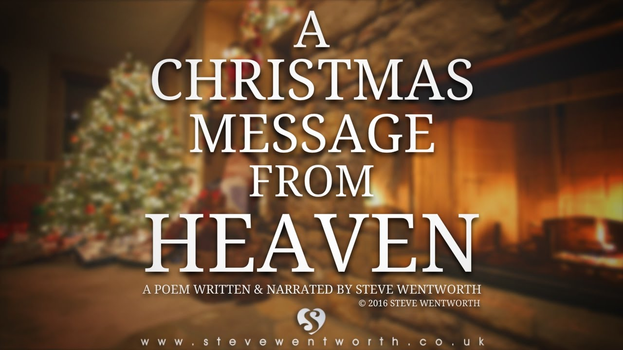 A Christmas Message from Heaven - YouTube