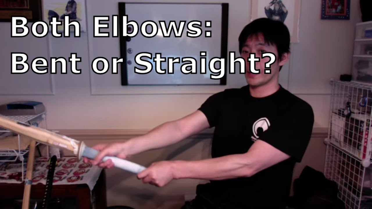 Should Both Elbows Be Straight When Striking in Kendo