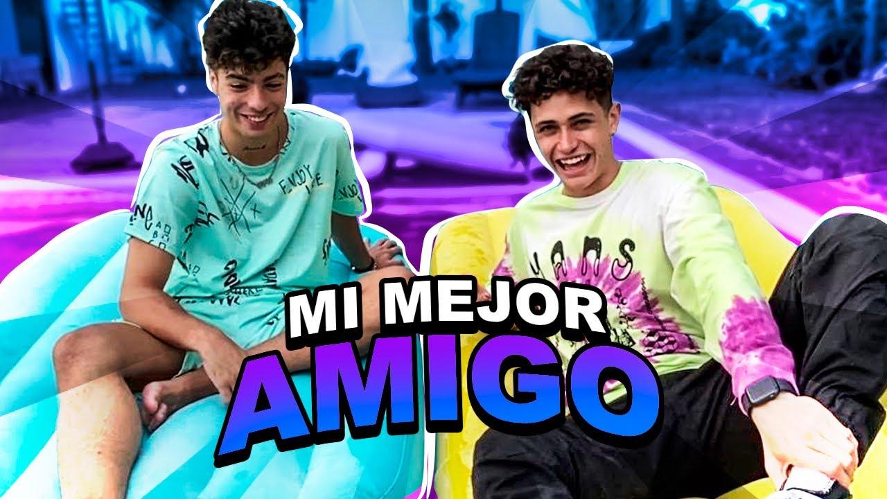 Tag Del Mejor Amigo En La Alberca Naim Darrechi Youtube