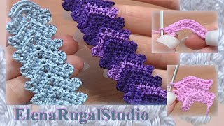 Crochet Simple Cord Урок 1 Вязаные шнуры(http://sheru.ru Этот урок посвящен вязанию красивого шнура, который в дальнейшем будем нами использоваться в шнур..., 2013-09-05T12:37:35.000Z)