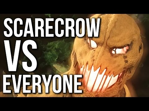 Injustice 2 - Scarecrow Vs Everyone Intros / Interactions / Fears