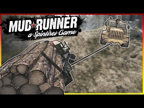 MULTIPLAYER WINCH PULLING & LOG HAULING! - Spintires: MudRunner  Multiplayer Gameplay & Highlights