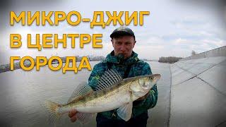 Открыл сезон МИКРУХИ Ловля Огромных Окуней Рыбалка на Судака Весной Street Fishing NSK