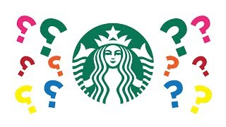 ❓What's WRONG with the STARBUCKS logo?