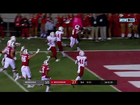 Wisconsin Badgers - Wisconsin 41, Nebraska 24: Badgers win second prime-time game in a row