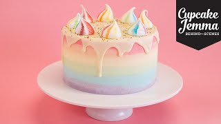 One of CupcakeJemma's most viewed videos: Behind the Scenes Making a Unicorn Cake | Cupcake Jemma