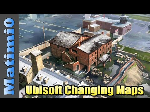 Ubisoft Changing Old Maps - Rainbow Six Siege