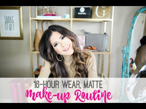 Matte, Long Wear Makeup Routine | Emily Gemma | The Sweetest Thing Blog