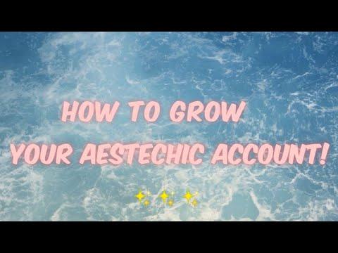 How To Grow Your Aesthetic Tiktok Account Youtube