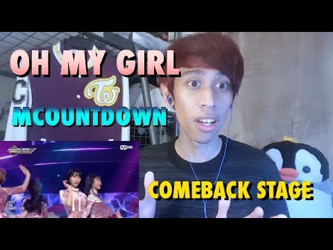 OH MY GIRL - SECRET GARDEN LIVE PERFORMANCE MCOUNTDOWN COMEBACK STAGE 180111 REACTION!