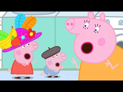 Peppa Pig Official Channel 💃 Learn Mummy Pig's Birdy Birdy Woof Woof Dance