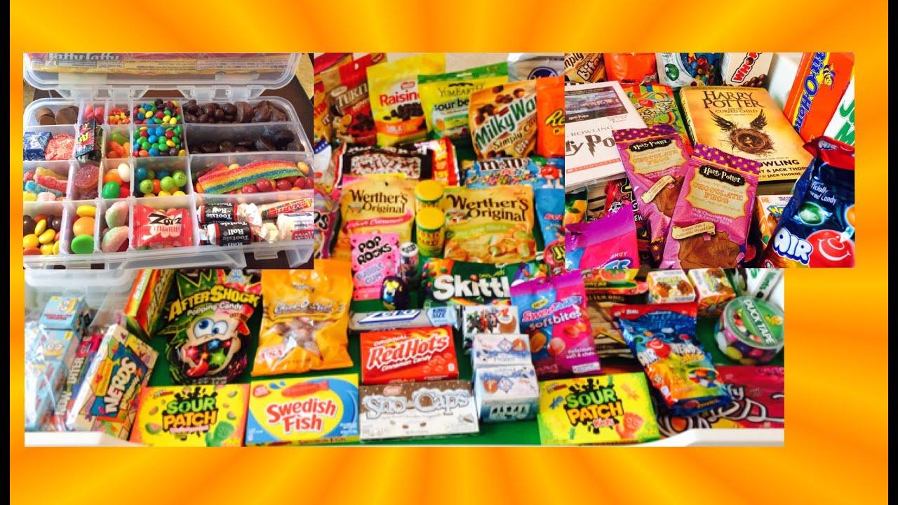 Harry Potter Toxic Waste DIY Candy Survivor Box Amp More