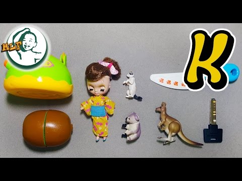 Words That Start With K | Learn Alphabet K With Common Toys!