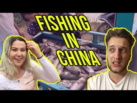 LANDING IN CHINA & FISHING IN THE MIDDLE OF NOWHERE