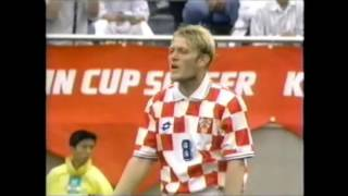 Japan 4 Croatia 3 Kirin Cup 1997