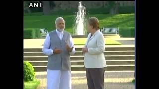 Confidential : Leaked audio : Modi ji meets Angel Merkel