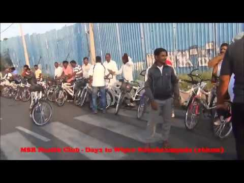 MSR Health Club - Day2 Cycling to Wipro Junction