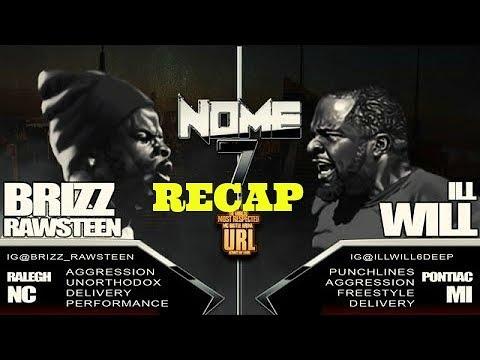 URLTV:  Brizz Rawsteen vs ILL WILL ( who really won )