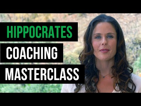 Coaching MASTERCLASS, January 2019 at Hippocrates