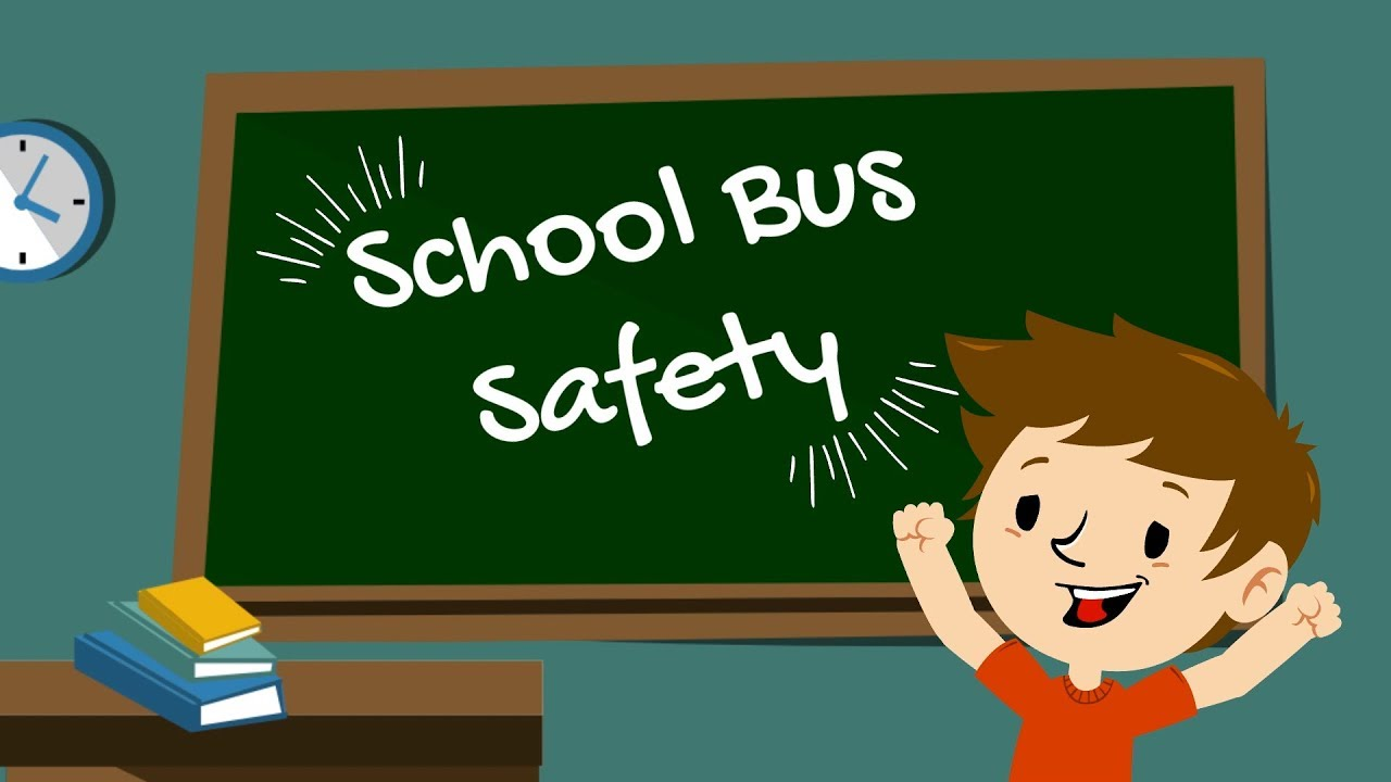School Bus Safety for kids by a kid!
