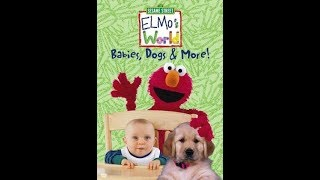 Elmo's World: Babies, Dogs & More (2000 DVD)