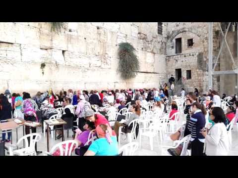 The story of the Western Wall (Wailing Wall) and its connection to the Jewish temple. Jerusalem
