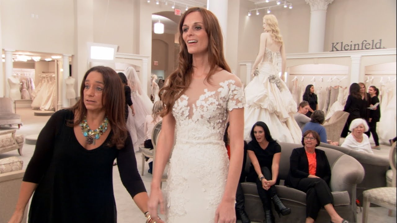 Remember when say yes to the dress revealed jennifer for Rainbow wedding dress say yes to the dress