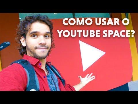 COMO FUNCIONA O YOUTUBE SPACE RIO DE JANEIRO?