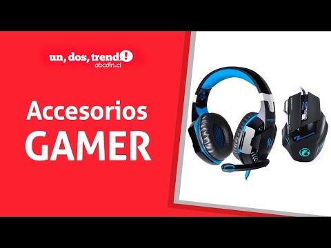 Accesorios Gamer: Audífonos y mouse recomendados