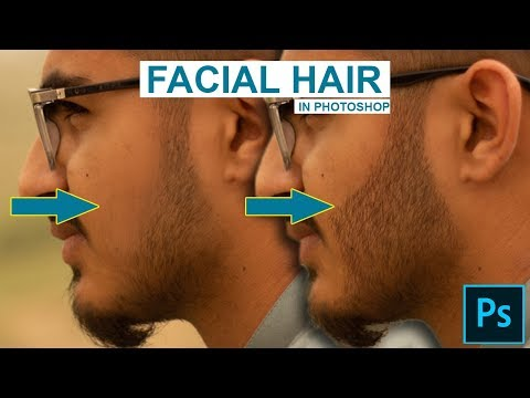 How To Create Realistic Facial/Beard Hair In Photoshop