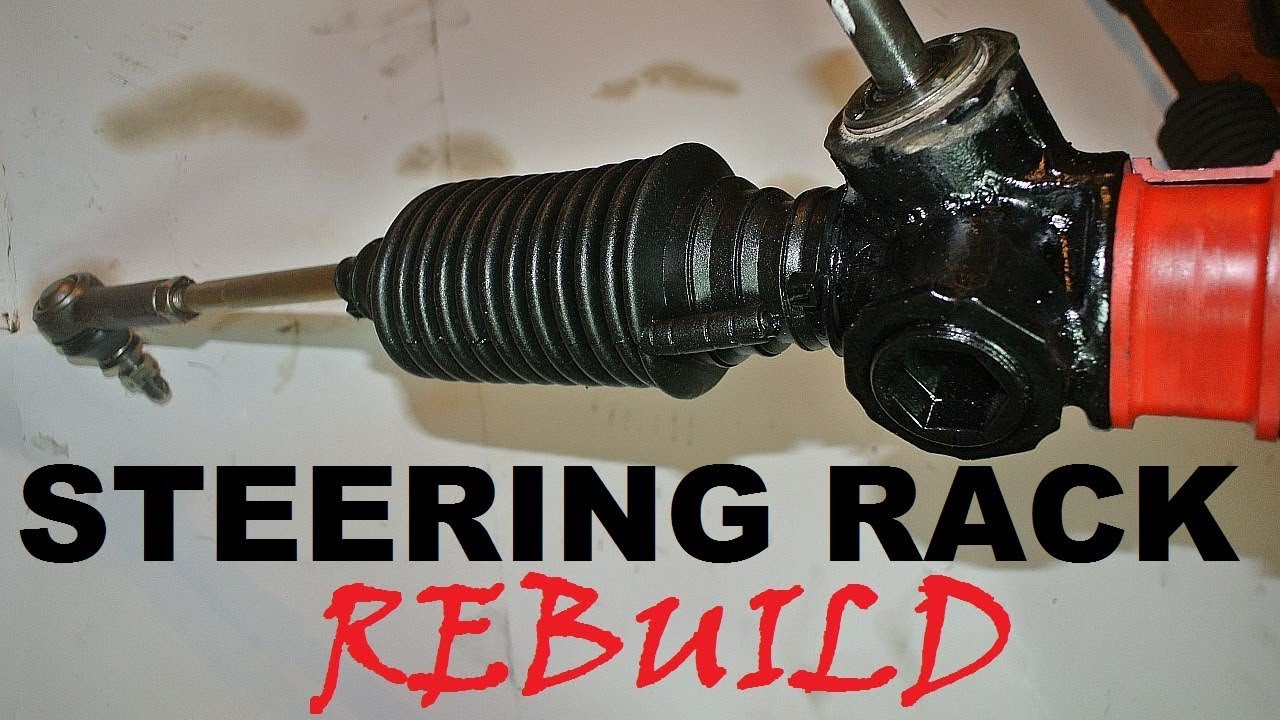 How To Rebuild A Steering Rack Youtube Pontiac Fiero Power