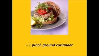 Recipe The Best Tuna Burger