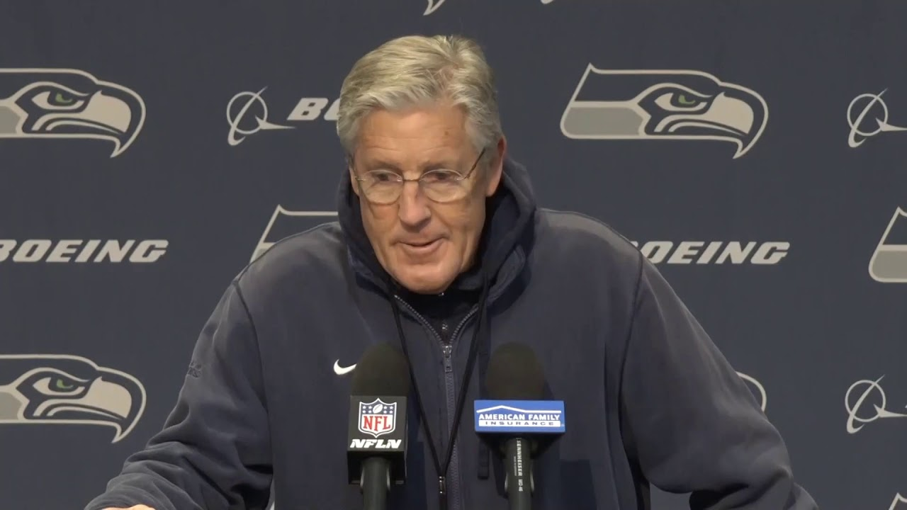 Pete Carroll on Sunday Chance 2019-12-29