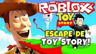 ¡ESCAPE DE TOY STORY! ROBLOX: TOY STORY OBBY!
