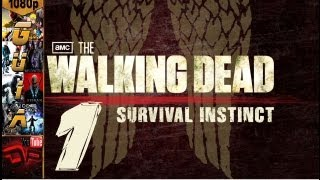 The Walking Dead Episodios: el videojuego - The Walking Dead: Survival Instinct Español Parte 1