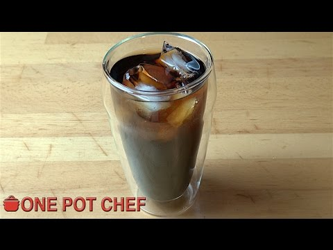 Easy Cold Brewed Coffee | One Pot Chef