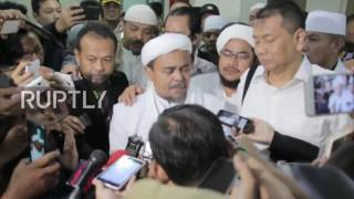 Indonesia: Anti-Ahok supporters rally in Jakarta as FPI leader testifies at blasphemy trial