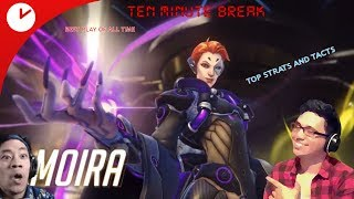Smurf Competitive | No Toxic | Moira is Trash Needs Nerf, Overpowered | Blizzcon Lit