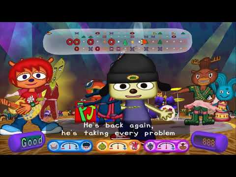 Parappa the Rapper 2 - Stage 8 (Black Hat) REMIX+