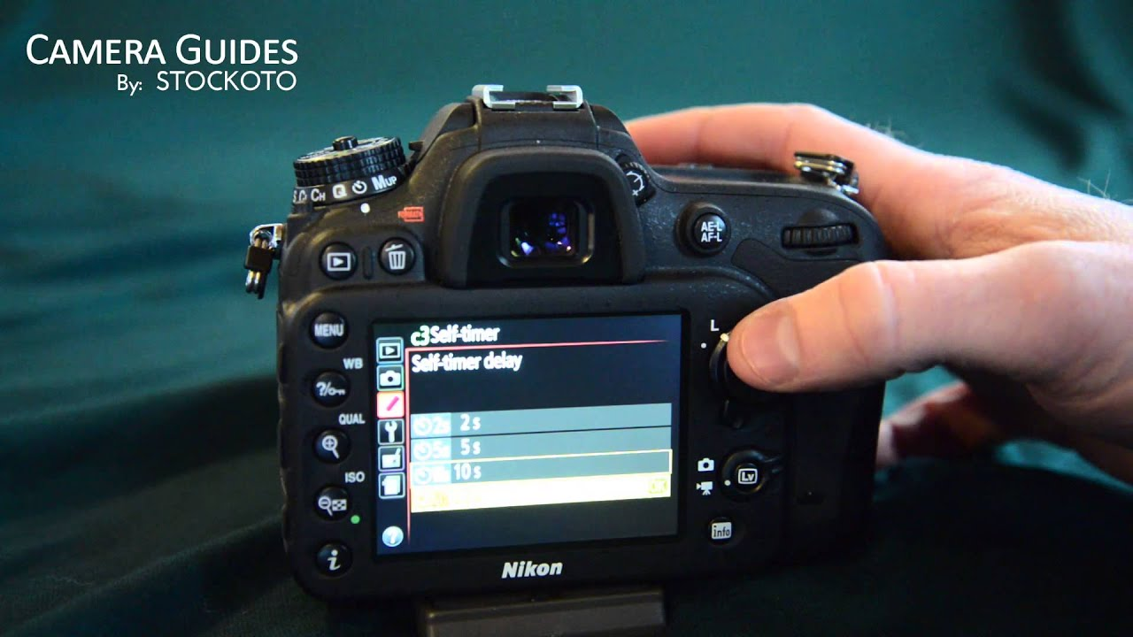 how to set a self timer on the nikon d7100 youtube rh youtube com Nikon D70 Review Nikon D70 Digital SLR Camera