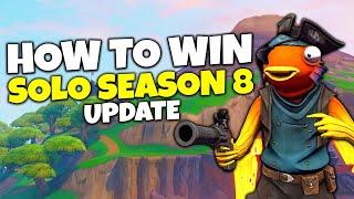 How To Win Solo In Fortnite Season 8