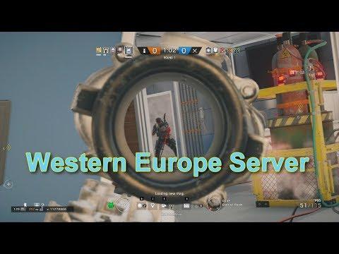 Ranked Match In Western Europe Server- Rainbow Six Siege | Swag gamer |