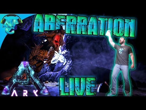 ARK Aberration Launch Party Live Stream! - ARK Survival Evolved Aberration E0