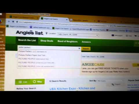 Angie's list hides negative reviews for paying con